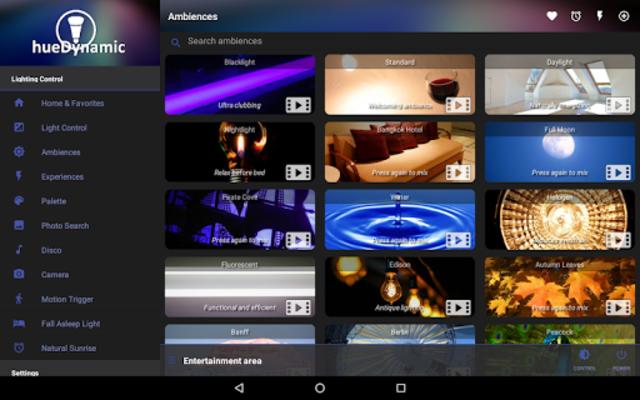 hueDynamic for Philips Hue screenshot 18