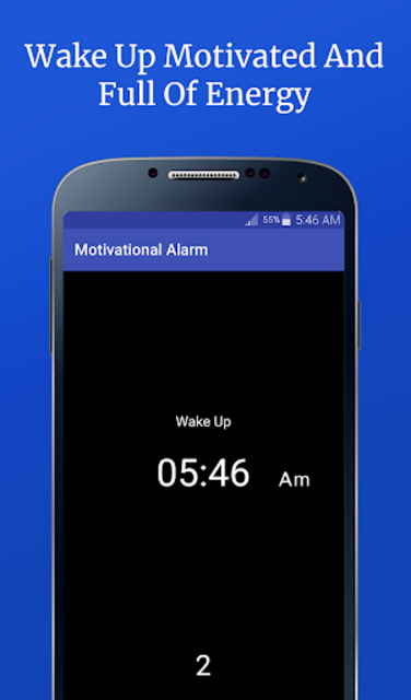 Motivational Alarm Clock - Wake Up Inspired screenshot 3