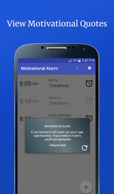 Motivational Alarm Clock - Wake Up Inspired screenshot 5