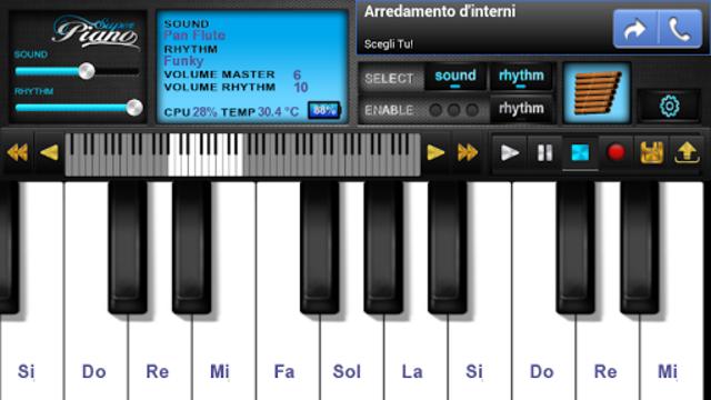 Super Piano FREE HD screenshot 1