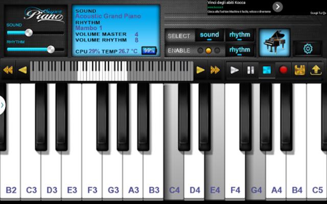 Super Piano FREE HD screenshot 2