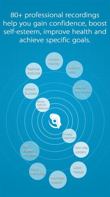 Subliminal Work -Positive Thinking Affirmations screenshot 1