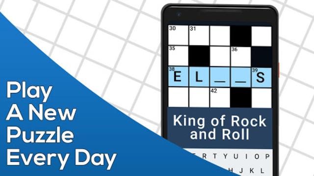Daily Themed Crossword - A Fun crossword game screenshot 1