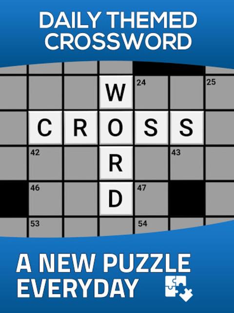 Daily Themed Crossword - A Fun crossword game screenshot 11