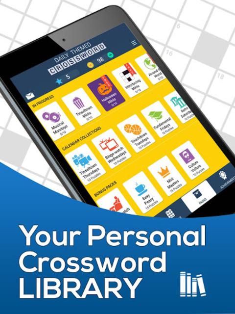 Daily Themed Crossword - A Fun crossword game screenshot 17