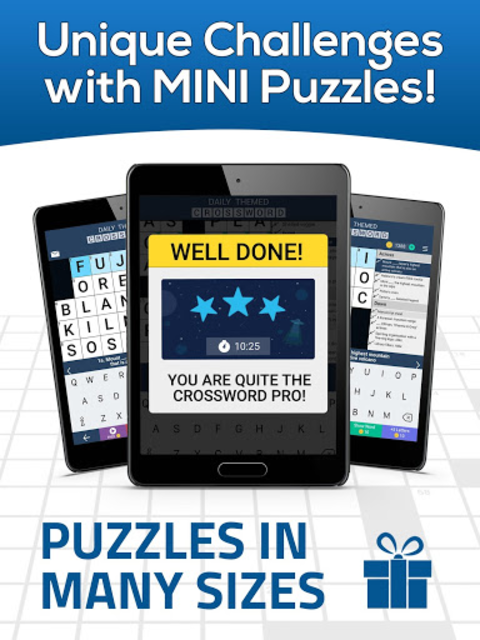 Daily Themed Crossword - A Fun crossword game screenshot 18