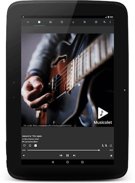 Musicolet Music Player [Free, No ads] screenshot 9