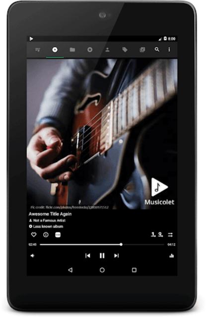 Musicolet Music Player [Free, No ads] screenshot 10