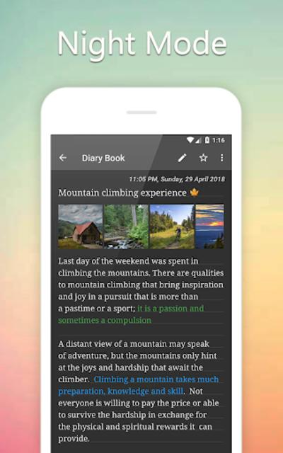 Diary Book - Journal With Lock, Photos, Themes screenshot 4