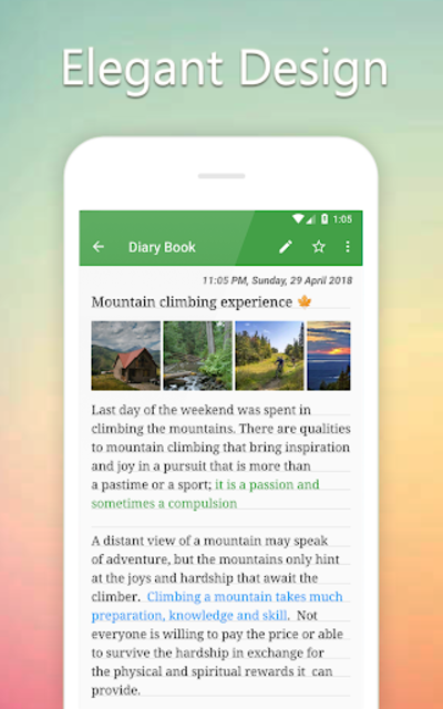 Diary Book - Journal With Lock, Photos, Themes screenshot 5