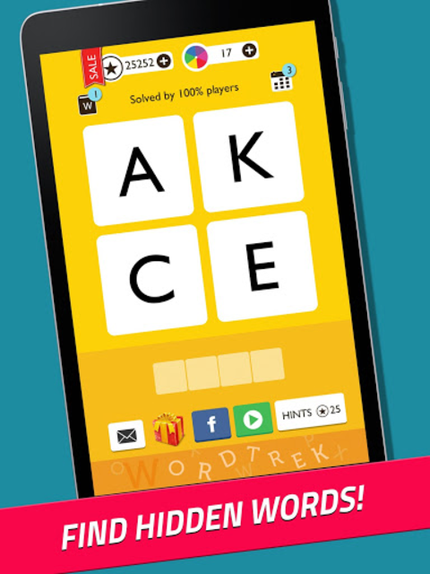 Word Trek - Word Brain streak - hand made puzzles screenshot 8