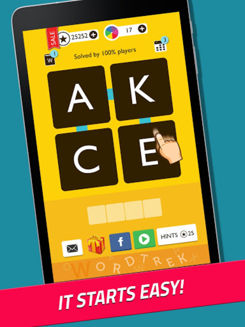 Word Trek - Word Brain streak - hand made puzzles screenshot 9