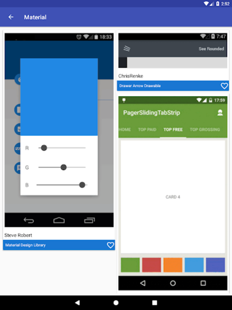 Awesome Android - UI Libraries screenshot 16