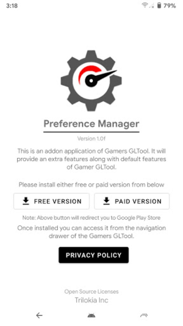 Preference Manager *ROOT(Addon for Gamers GLTool) screenshot 2
