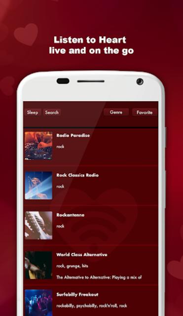 Heart Love Beat Radio Music Station screenshot 1