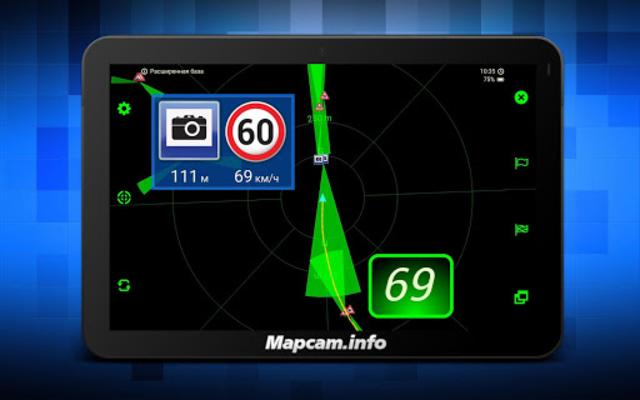 MapcamDroid Speedcam screenshot 15