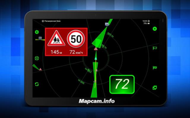 MapcamDroid Speedcam screenshot 18