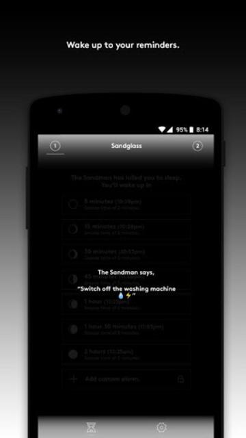 Sandglass — Nap Alarm + Timer screenshot 6