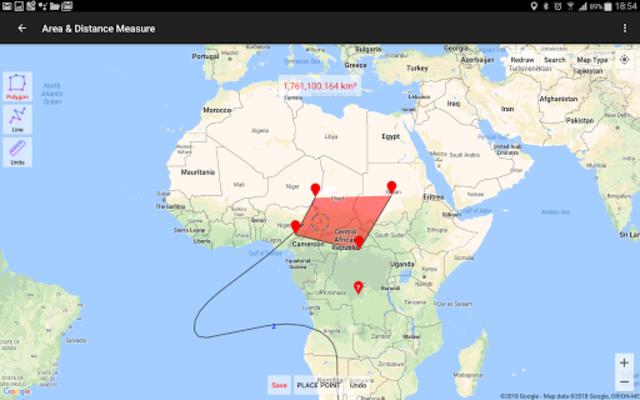UTM Geo Map screenshot 11