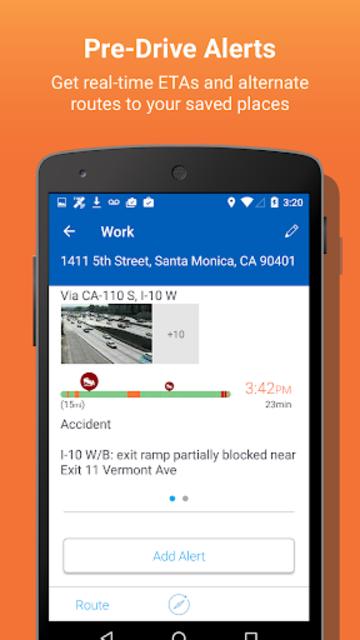 INRIX Traffic Maps & GPS screenshot 2