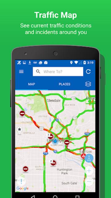 INRIX Traffic Maps & GPS screenshot 3