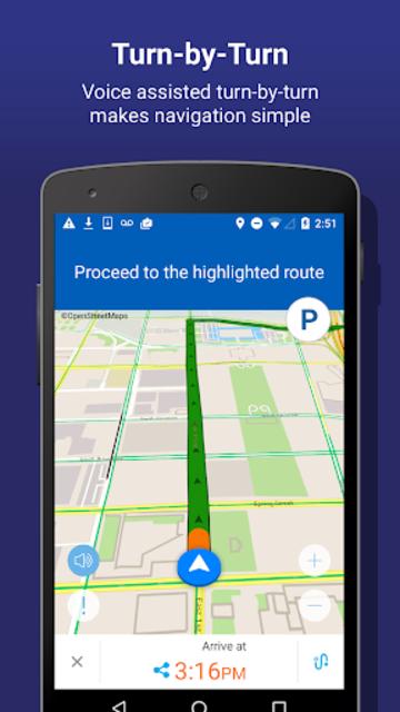 INRIX Traffic Maps & GPS screenshot 4