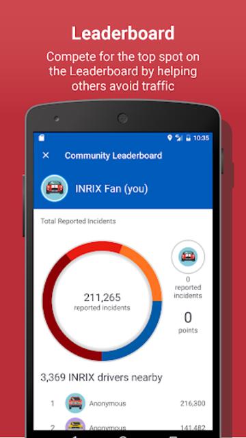 INRIX Traffic Maps & GPS screenshot 5