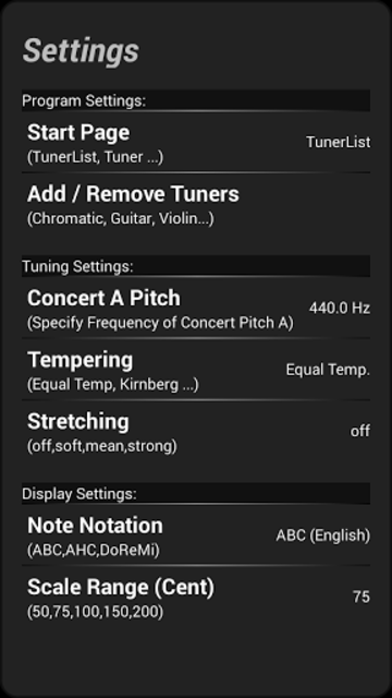 Instrument Tuner Pro screenshot 5
