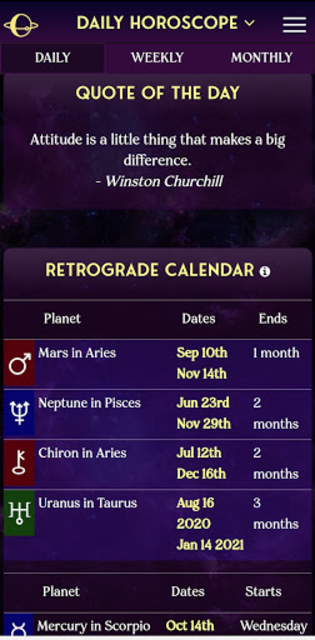 AstroMatrix Birth Chart Synastry Horoscopes screenshot 4