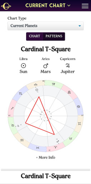 AstroMatrix Birth Chart Synastry Horoscopes screenshot 5