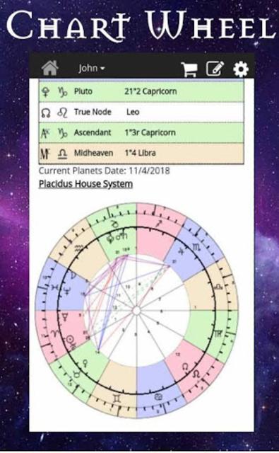 AstroMatrix Birth Chart Synastry Horoscopes screenshot 3