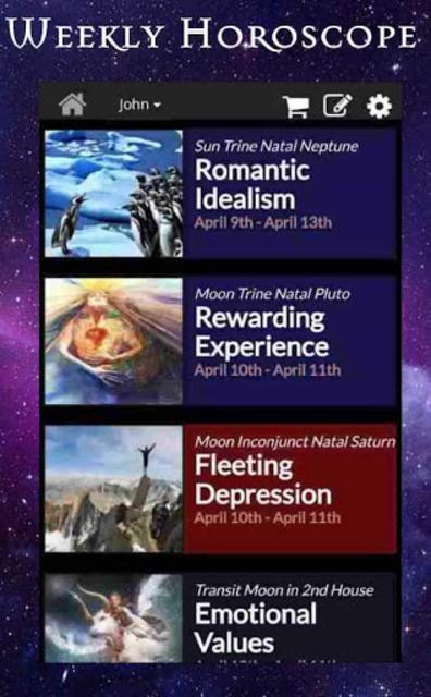 AstroMatrix Birth Chart Synastry Horoscopes screenshot 4