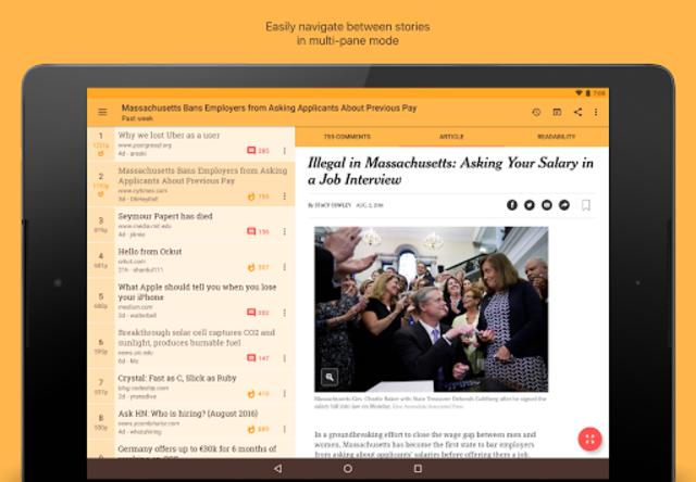 Materialistic - Hacker News screenshot 9