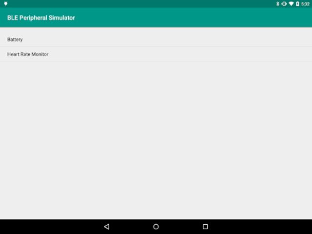 BLE Peripheral Simulator screenshot 4