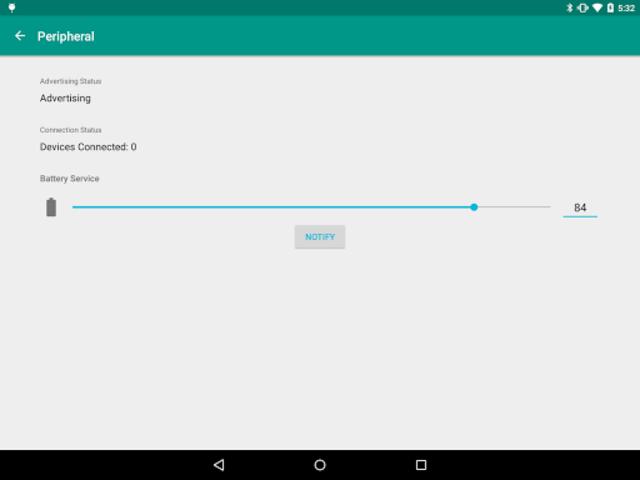 BLE Peripheral Simulator screenshot 5
