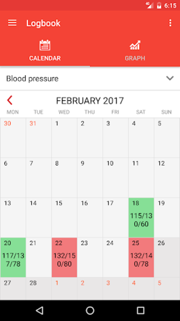 Blood Pressure Monitor screenshot 2