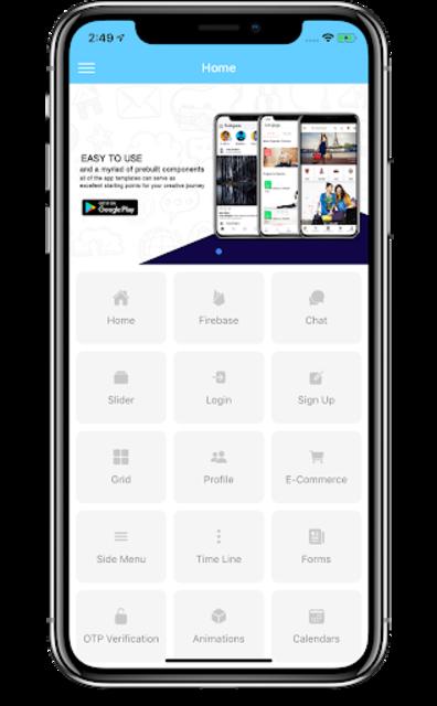Ionic 5 Starter App screenshot 2