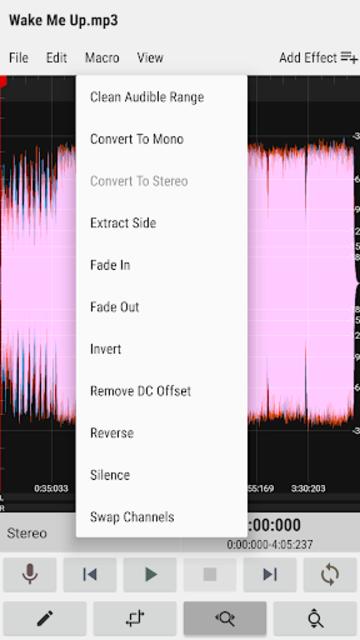 WaveEditor for Android™ Audio Recorder & Editor screenshot 7