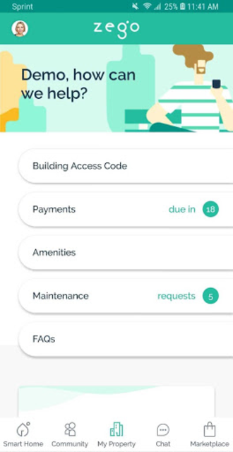 Zego Resident App screenshot 5