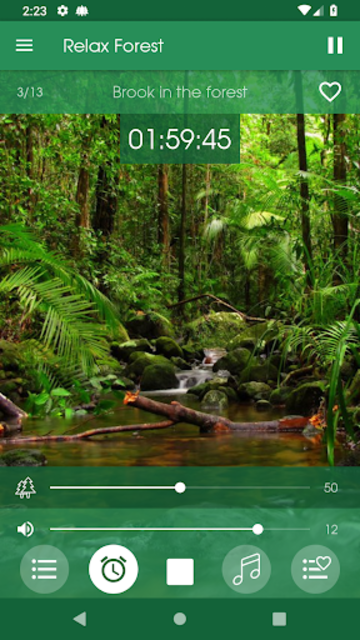 Relax Forest - Nature sounds: sleep & meditation screenshot 4