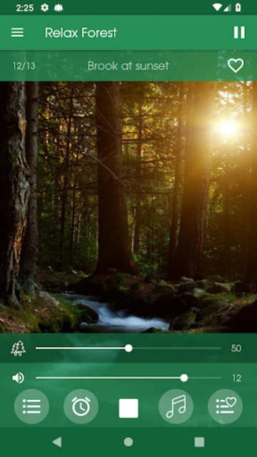 Relax Forest - Nature sounds: sleep & meditation screenshot 8