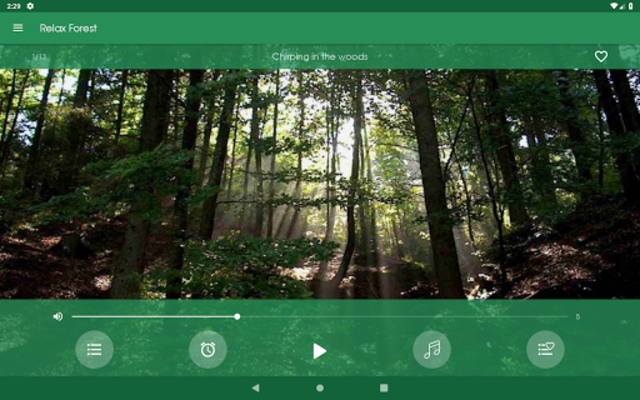 Relax Forest - Nature sounds: sleep & meditation screenshot 10