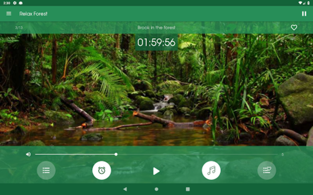 Relax Forest - Nature sounds: sleep & meditation screenshot 12