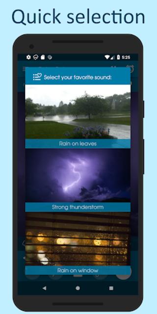 Relax Rain - Rain sounds: sleep and meditation screenshot 2
