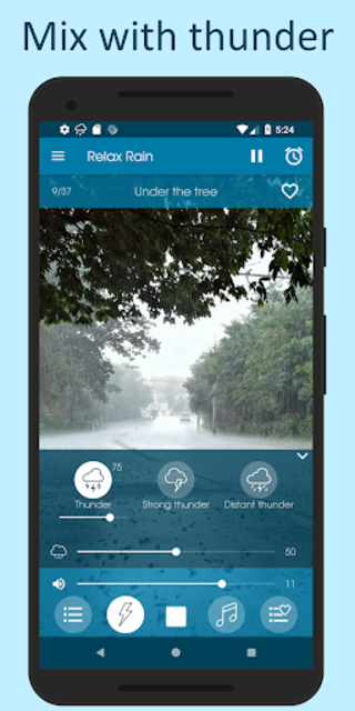 Relax Rain - Rain sounds: sleep and meditation screenshot 3