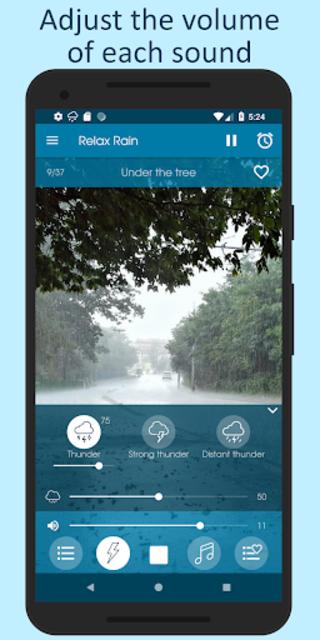 Relax Rain - Rain sounds: sleep and meditation screenshot 7