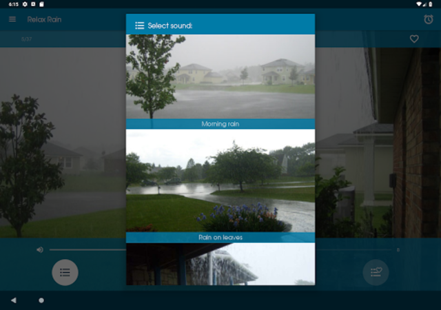 Relax Rain - Rain sounds: sleep and meditation screenshot 9