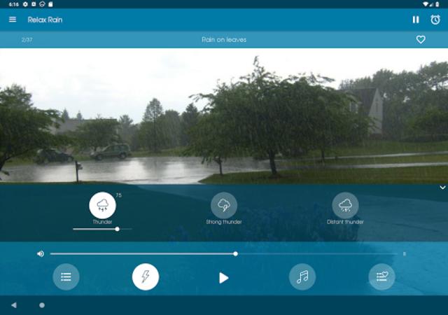 Relax Rain - Rain sounds: sleep and meditation screenshot 11
