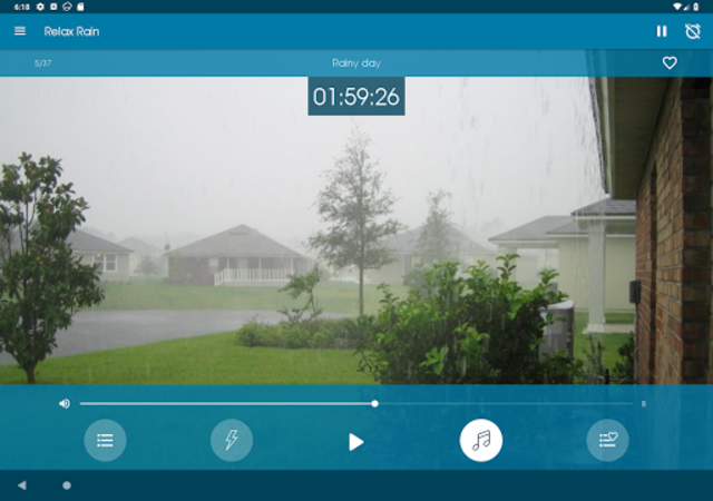 Relax Rain - Rain sounds: sleep and meditation screenshot 13