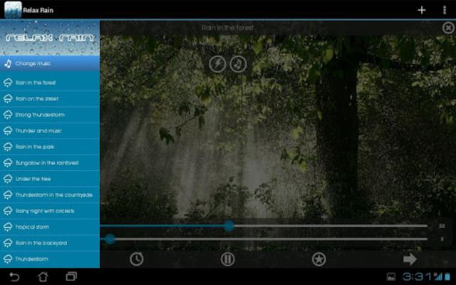 Relax Rain - Rain sounds: sleep and meditation screenshot 17